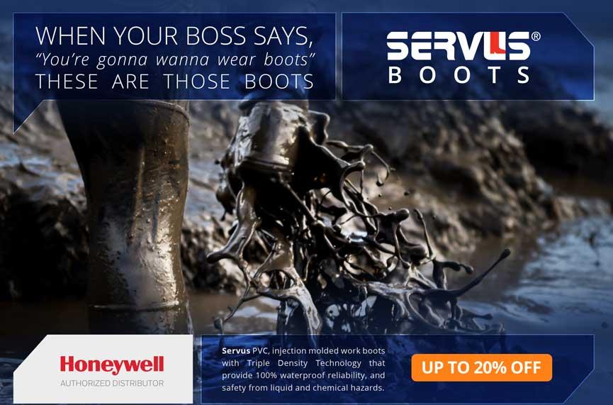 Honeywell Servus Boots on sale