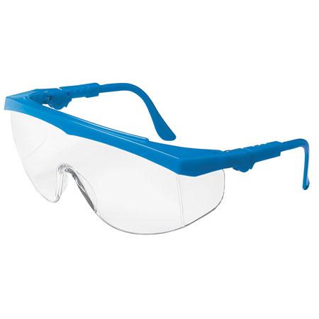 MCR Safety TK120 Tomahawk Safety Glasses, Blue FrameMCR Safety TK120 Tomahawk Safety Glasses, Blue FrameMCR