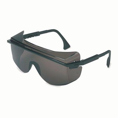 Uvex® by Honeywell S2504 Safety Glasses, Polycarbonate, Gray, Scratch-ResistantUvex® by Honeywell S2504 Safety Glasses, Polycarbonate, Gray,
