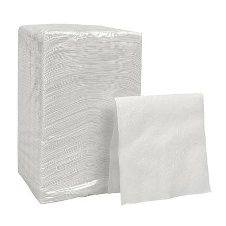 Pacific Blue®, Dinner Napkin, White, 1-Ply, 1/4 Fold, 16 x 16 inPacific Blue®, Dinner Napkin, White, 1-Ply, 1/4 Fold,