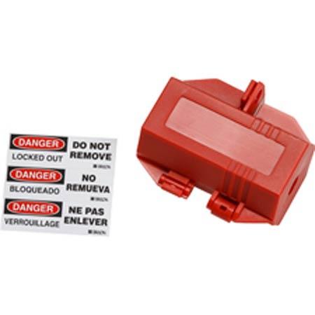 "Brady 103534 Red 110V Lockout Plug 1/2"" HoleBrady 103534 Red 110V Lockout Plug 1/2"" HoleBrady"