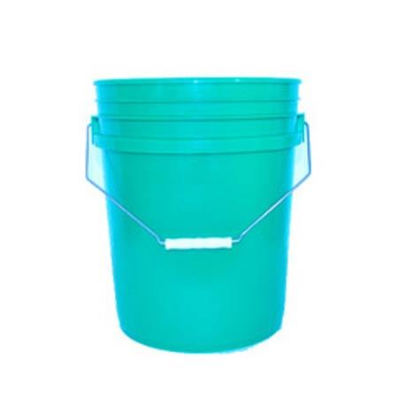 5 Gallon Round Plastic Food Grade Buckets Assorted Colors