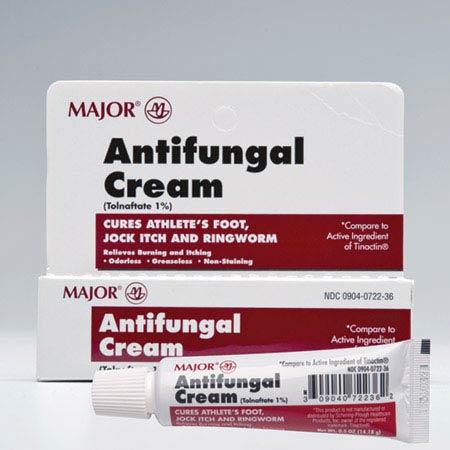 MAJOR®, Tolnaftate Cream, 15 g, Tube