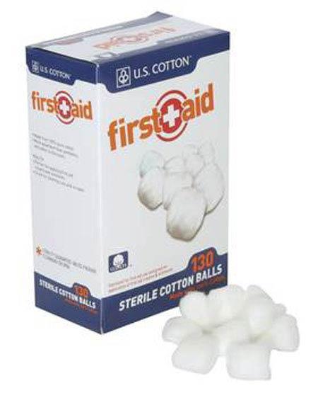 Honeywell 113561 First Aid Sterile Cotton Balls