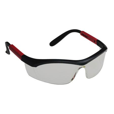 North® T57505B Safety Glasses, Polycarbonate, Clear, Scratch-Resistant|Anti-Fog, Framed, BlackNorth® T57505B Safety Glasses, Polycarbonate, Clear, Scratch-Resistant|Anti-Fog, Framed,