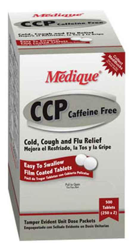 Medique Cough & Cold Relief Medication, 100-count