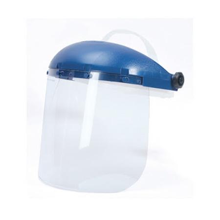 Pin-Lock Headgear, Plastic, Clear (Window) / Blue (Crown)Pin-Lock Headgear, Plastic, Clear (Window) / Blue (Crown)Pin-Lock