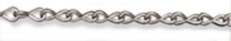 Single Jack Chain, Steel, 100 ft