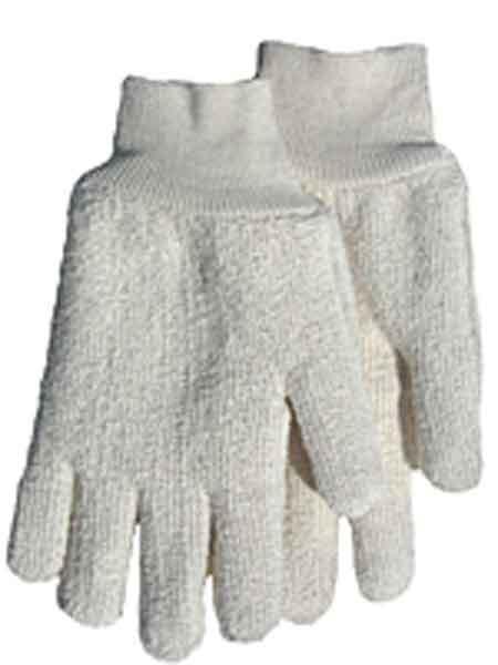 Carolina Glove K7244 Medium White Terrycloth Gloves