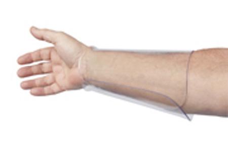"Exact Equipment 7-1/2"" Clear Plastic Arm Guard MediumExact Equipment 7-1/2"" Clear Plastic Arm Guard MediumExact"