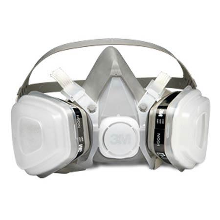 3M™ 52P71 Half Mask Disposable Respirator Assembly, Medium3M™ 52P71 Half Mask Disposable Respirator Assembly, Medium3M™