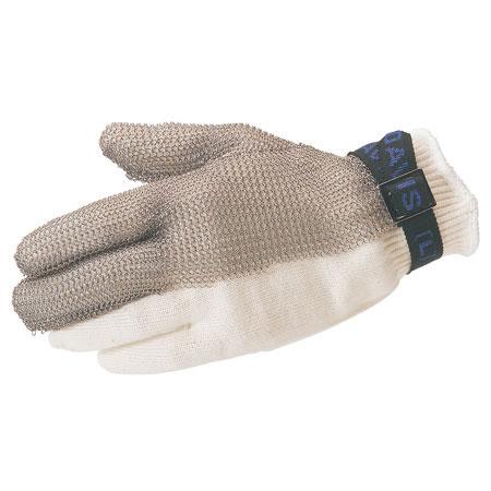 North®, Metal Mesh Gloves, Stainless Steel Mesh, Standard