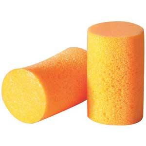 Howard Leight®, Disposable Earplug, Uncorded, Orange, Cylinder, 30 dBHoward Leight®, Disposable Earplug, Uncorded, Orange, Cylinder, 30