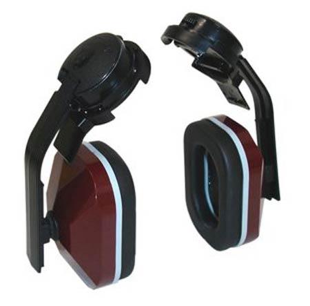E-A-R™, Earmuff, Black / Maroon, Helmet Attached, Noise Blocking, 21 dBE-A-R™, Earmuff, Black / Maroon, Helmet Attached, Noise