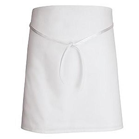 VF® Chef Designs, Sewn Edge Apron, Universal Size, WhiteVF® Chef Designs, Sewn Edge Apron, Universal Size,