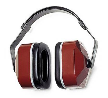 E-A-R™, Earmuff, Black / Maroon, 3 Position, Noise Blocking, 25 dBE-A-R™, Earmuff, Black / Maroon, 3 Position, Noise