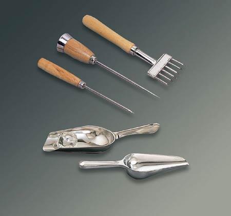 Stainless Steel Scoop, Stainless Steel, 6 oz, 9 inStainless Steel Scoop, Stainless Steel, 6 oz, 9