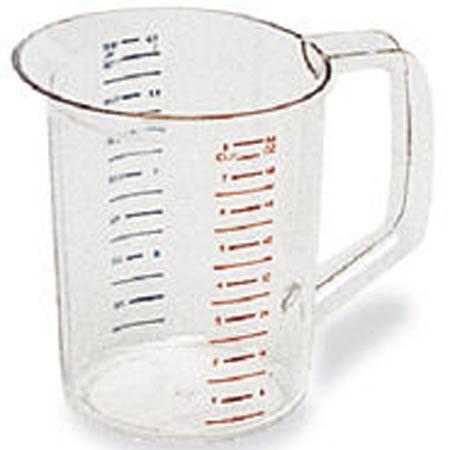 Rubbermaid 2 Quart Measuring Cup Clear Bouncer® FG321700CLRRubbermaid 2 Quart Measuring Cup Clear Bouncer® FG321700CLRRubbermaid