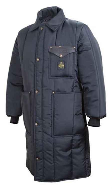 Refrigiwear® Iron-Tuff™ 0341 Navy Nylon Inspector Jacket
