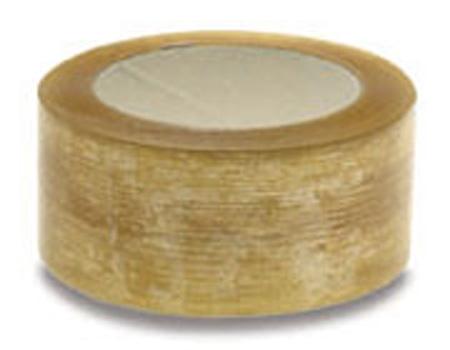 Carton Sealing Tape, Polypropylene Film, 50 m, 48 mm, 36 Rolls per Case 54 Cases per PalletCarton Sealing Tape, Polypropylene Film, 50 m, 48