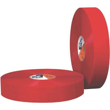 HP 200®, Carton Sealing Tape, Red, Polypropylene Film, 110 yds, 2 in, 36 Rolls per CaseHP 200®, Carton Sealing Tape, Red, Polypropylene Film,
