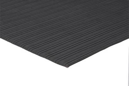 """Apache Mills Soft Foot™ 20-160-0900-02700060 Black Vinyl Foam Anti-Fatigue Dry Mat, 27"""" x 60""""Apache Mills Soft Foot™ 20-160-0900-02700060 Black Vinyl Foam"""