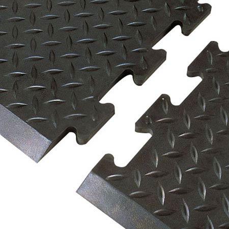 "Airug® Anti-Slip/Anti-Fatigue Black PVC Matting, 36"" x 60""Airug® Anti-Slip/Anti-Fatigue Black PVC Matting, 36"" x 60""Airug®"