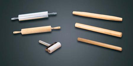 Rolling Pin, Ball Bearing, Aluminum, 3-1/2 in, 15 x 3.5 in, 15 in, 1 per Pack|6 per Case, Heavy-DutyRolling Pin, Ball Bearing, Aluminum, 3-1/2 in, 15