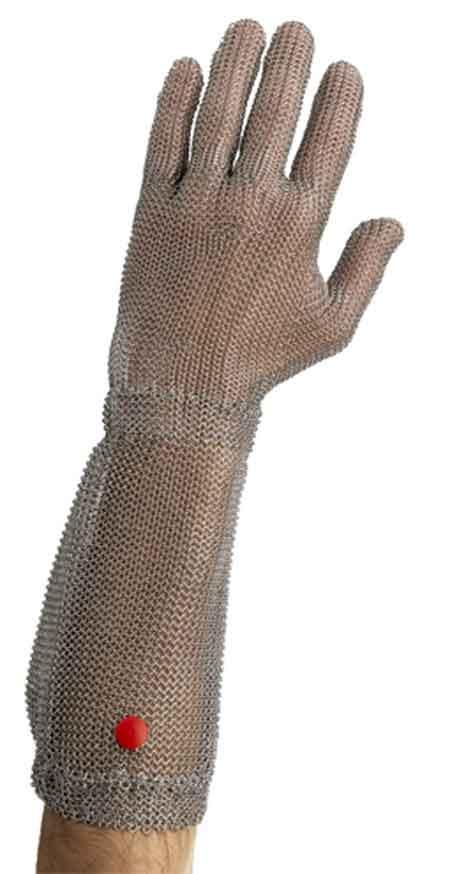"Manulatex® 7"" Long Cuff Stainless Steel Metal Mesh"