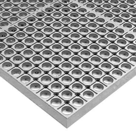 Wet Mat, Gray, 6.10 m, 0.91 m, 13 mm, SBR RubberWet Mat, Gray, 6.10 m, 0.91 m, 13