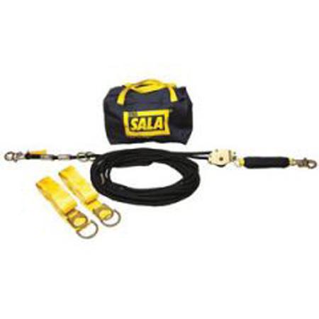 3M™ DBI SALA® Sayfline™ Horizontal Lifeline System,60 ft, Hook, 310 lbs3M™ DBI SALA® Sayfline™ Horizontal Lifeline System,60 ft,