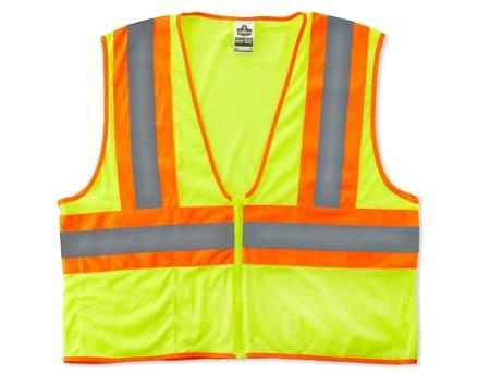 GloWear®, High Visibility Class 2 Economy Two-Tone Vest,