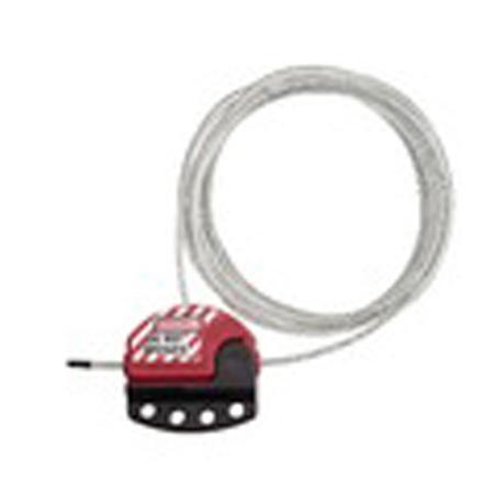 MasterLock S806CB15 Adjustable 4 Locks Cable Lockout