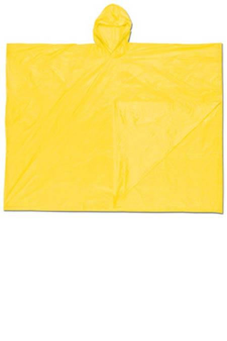 Disposable Yellow Rain Poncho PVC MCR Schooner 040Disposable Yellow Rain Poncho PVC MCR Schooner 040Disposable