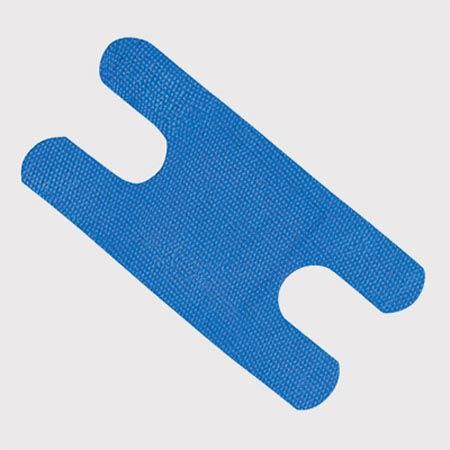First Aid Bandage, Blue, 1-1/2 W x 3 L inFirst Aid Bandage, Blue, 1-1/2 W x 3