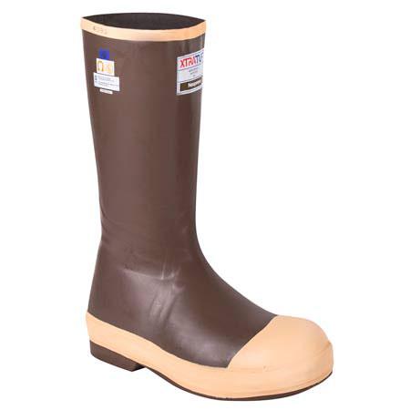"Honeywell SERVUS® 22273G Waterproof Neoprene Steel-Toe Boots, 16"""