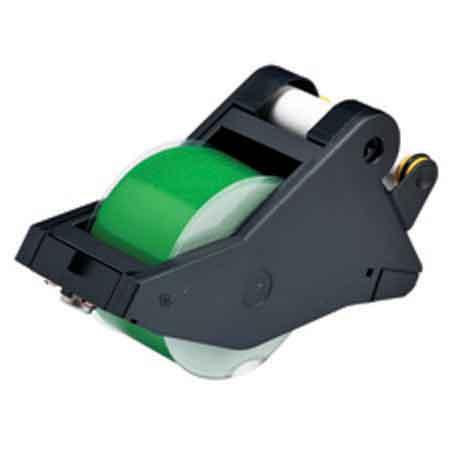 Tape Cartridge, Vinyl Film, Gloss, Green / White, 2-1/4 in, 90 ftTape Cartridge, Vinyl Film, Gloss, Green / White,