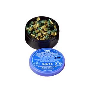 SCHERMER POWER LOADS C-5 BLUE 100/BX FOR BULLSSCHERMER POWER LOADS C-5 BLUE 100/BX FOR BULLSSCHERMER