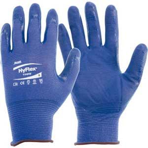 Ansell HyFlex® 11-818 Multi-Purpose Gloves, Foam Nitrile Palm