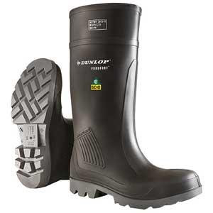 Dunlop Purofort® Boots E462043 Charcoal Polyurethane Steel Toe