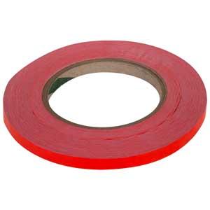 """Poly Bag Sealer Tape Roll Red 3/8"""" x 180 ydsPoly Bag Sealer Tape Roll Red 3/8"""" x"""