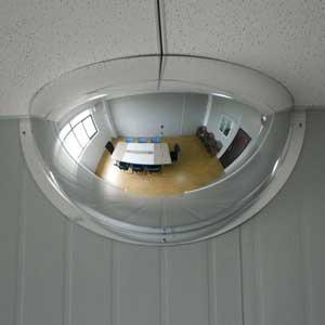 "Fred Silver and Company H-DOME-32 32"" Acrylic Half-Dome MirrorFred Silver and Company H-DOME-32 32"" Acrylic Half-Dome"
