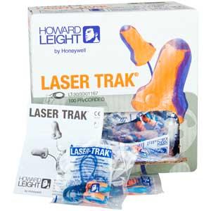 Howard Leight Laser Trak® LT-30 Metal Detectable Earplugs, 33dBHoward Leight Laser Trak® LT-30 Metal Detectable Earplugs,
