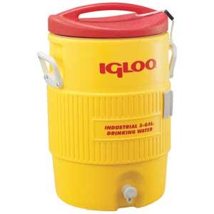 Igloo® IGL451 5-Gallon Water Cooler with Pressure-Fit Lid and SpigotIgloo® IGL451 5-Gallon Water Cooler with Pressure-Fit Lid