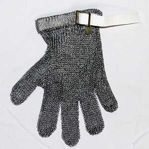 International Services 116068 Metal Mesh Glove Strap, White, SmallInternational Services 116068 Metal Mesh Glove Strap, White,