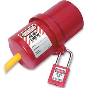 Master Lock® 488 Rotating Large Electrical Plug LockoutMaster Lock® 488 Rotating Large Electrical Plug LockoutMaster
