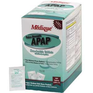 Medique® 17513 Extra Strength APAP Acetaminophen, 250 DosesMedique® 17513 Extra Strength APAP Acetaminophen, 250 DosesMedique®