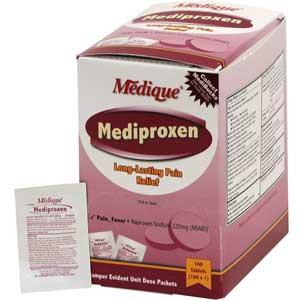Medique® 23733 Mediproxen® Naproxen Sodium Tablets, 100 DosesMedique® 23733 Mediproxen® Naproxen Sodium Tablets, 100 DosesMedique®