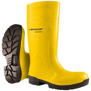 Dunlop Purofort® FoodPro Yellow Steel Toe Boots EA61231