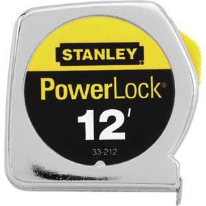 Stanley® 33-212 12 ft PowerLock® Tape Measure